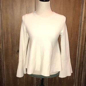 Ann Taylor Sweater with Bell Sleeves